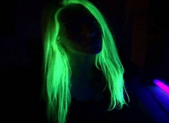 UV svetleće boje za lice, telo i kosu - Set 5 boja!